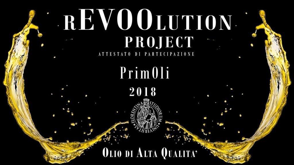 """Attestato di partecipazione """"rEVOOlution Project"""", Olio di Alta Qualità"""